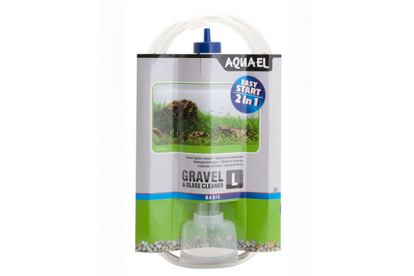 Сифон Aquael Gravel & Glass Cleaner L
