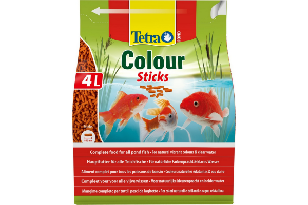 Корм TETRA Pond Color Sticks 4 л